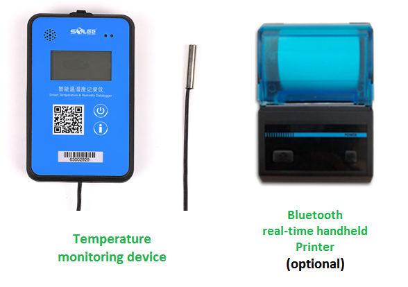Temperature monitoring device